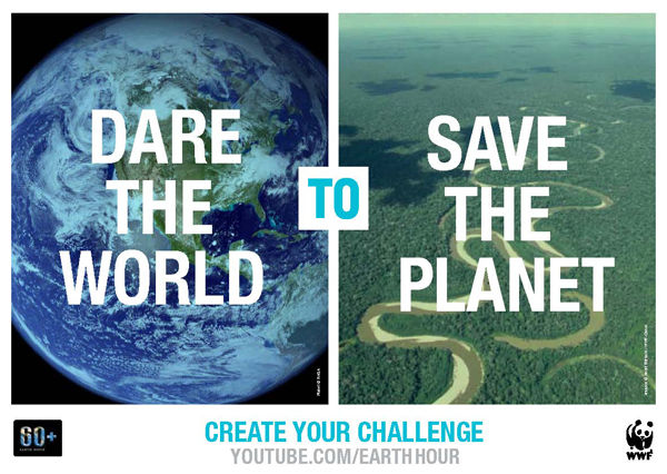 Take Action: Earth Hour Pledge