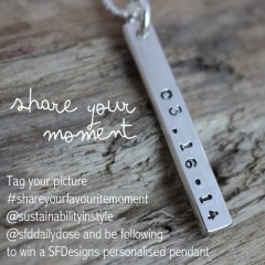 SFDesigns and Sustainability in Style Giveaway