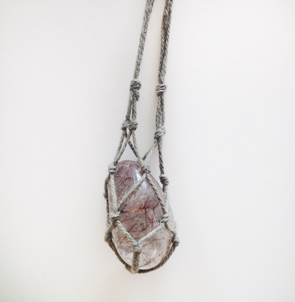 Diy Gemstone Necklace Sustainability In Style