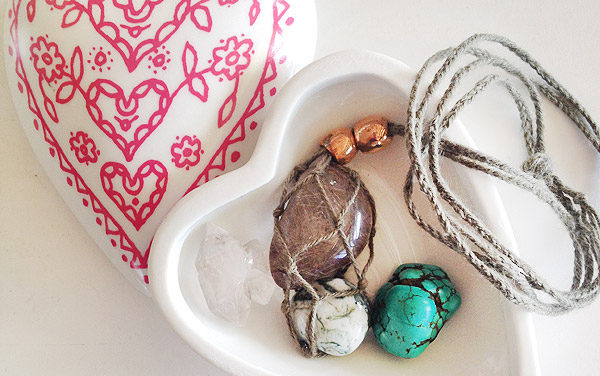 DIY: Gemstone Necklace