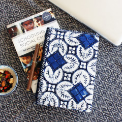 DIY: Reusable Up-Cycled Book Cover