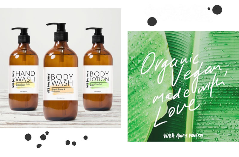 Label Love: Wash Away Poverty