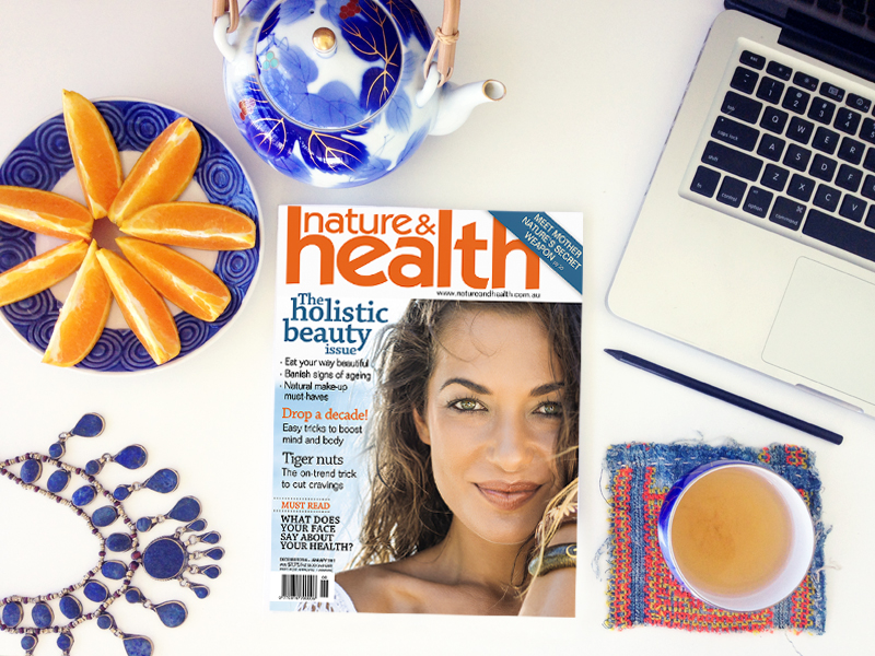 Eco Chic in Australia's Nature & Health Magazine